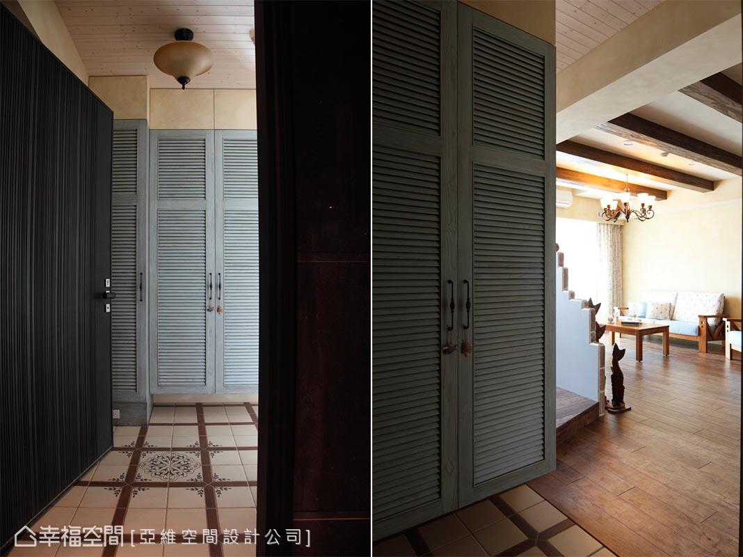 精选97平米三居客厅田园装修设计效果图