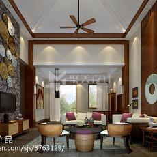 2018精选东南亚一居客厅装修图片