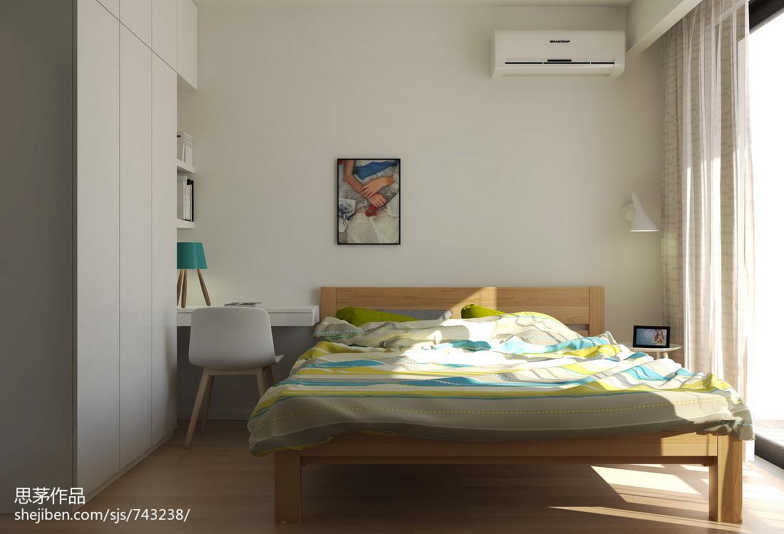 精美二居卧室现代装饰图片欣赏