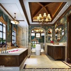 热门美式卫生间装饰图片