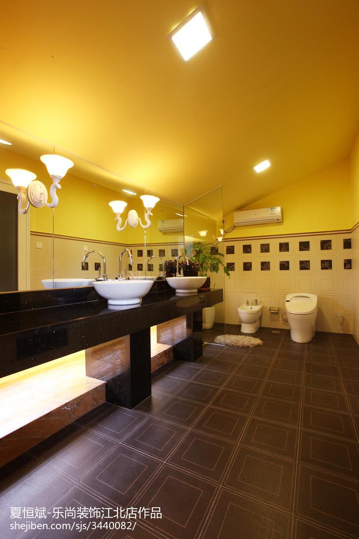 华丽精致欧式卫生间装修案例