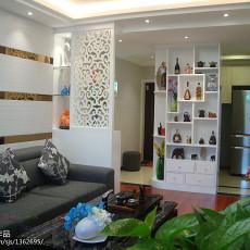 精美大小92平现代三居客厅装修实景图片欣赏