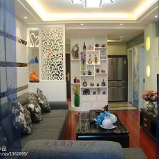 精选大小90平现代三居客厅装饰图