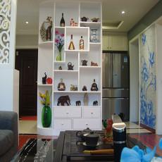 2018105平方三居客厅现代装修设计效果图片大全