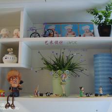 精美面积108平现代三居儿童房装修设计效果图片大全