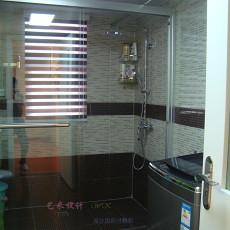104平米三居卫生间现代装修图片欣赏