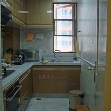 热门现代三居厨房装修实景图