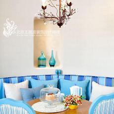 2018精选餐厅地中海装修设计效果图片欣赏