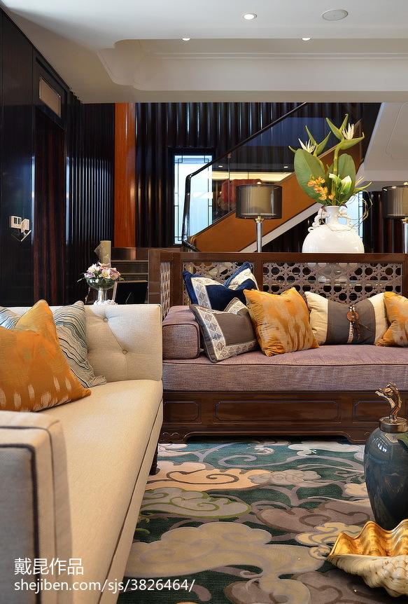 客厅中式装修欣赏图
