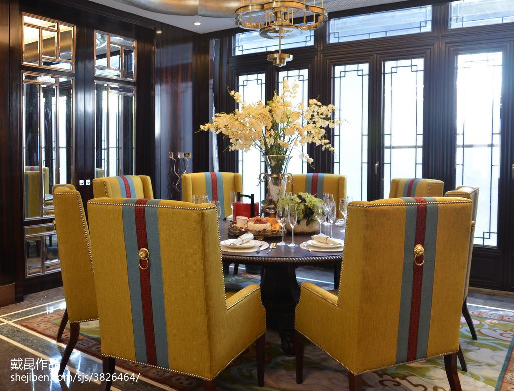 精美餐厅中式装修效果图片