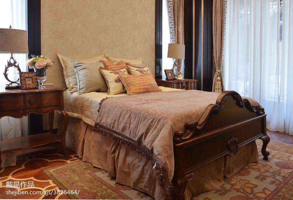 热门中式卧室装修设计效果图