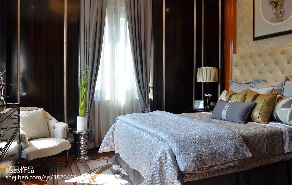 精选中式卧室装修设计效果图片