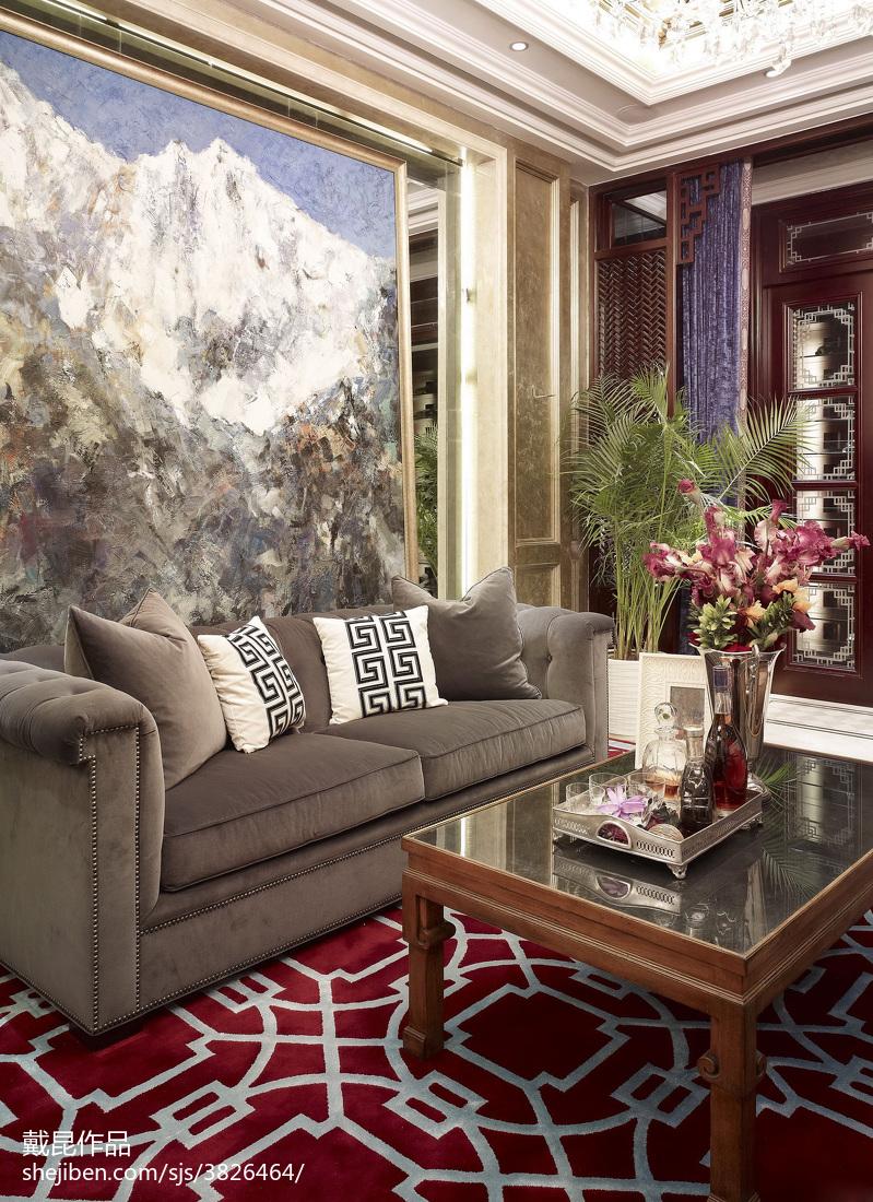 热门中式客厅欣赏图片
