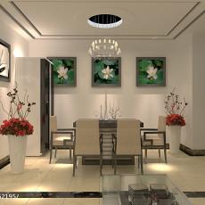 201896平米三居餐厅现代装修设计效果图