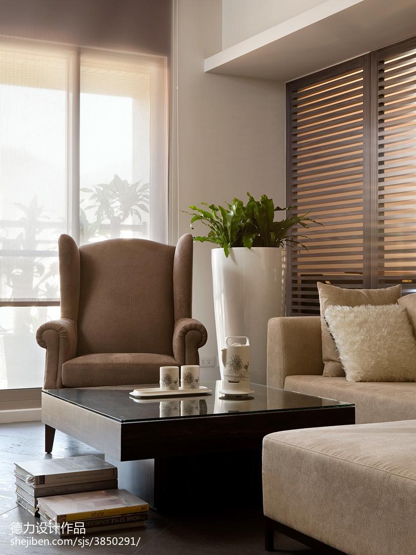 精选140平方四居客厅现代效果图片