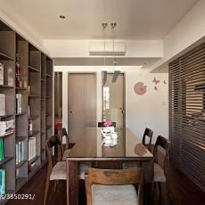 115平米四居书房现代装修效果图片