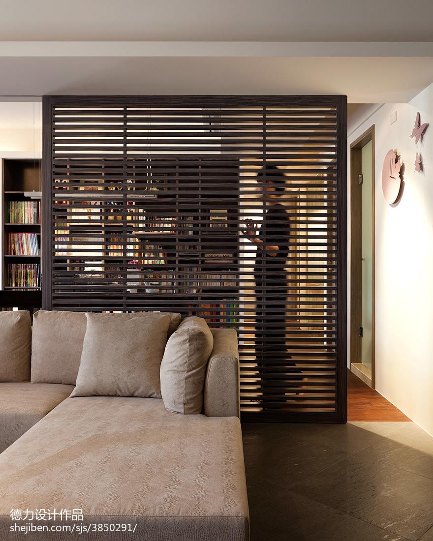精美117平米四居客厅现代装修效果图片