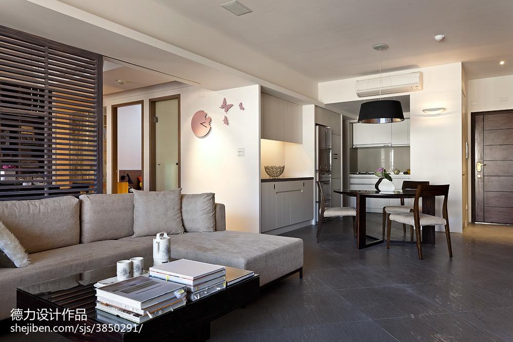精选142平米四居客厅现代装修设计效果图片