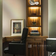 精美141平米中式复式书房效果图片大全