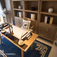 中式书房装修图片