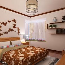 精美90平方二居卧室现代装修实景图片欣赏