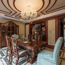 精选121平米美式别墅餐厅效果图片欣赏