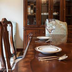精选138平米美式别墅餐厅装修欣赏图
