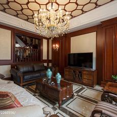 精选大小140平别墅客厅美式装修图片