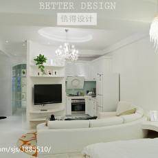 2018现代小户型客厅装修设计效果图片