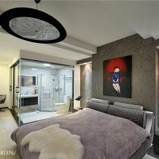 2018115平米四居卧室现代装修实景图片