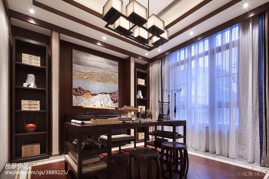 热门中式书房装修图片欣赏