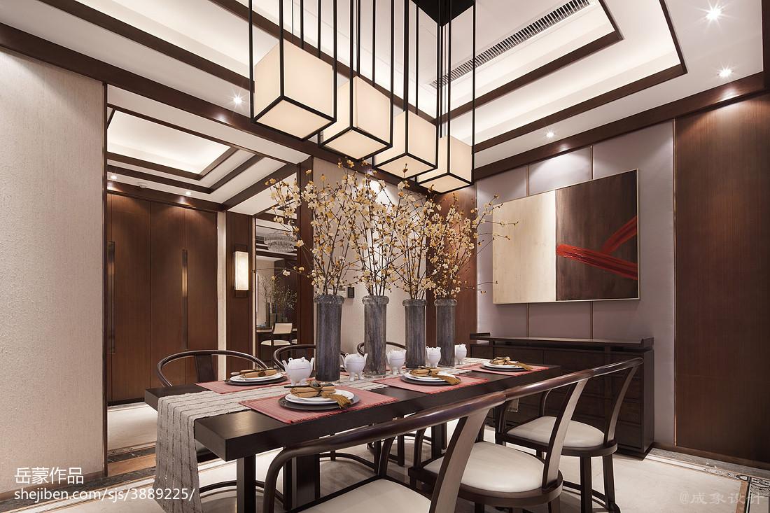 2018精选餐厅中式设计效果图