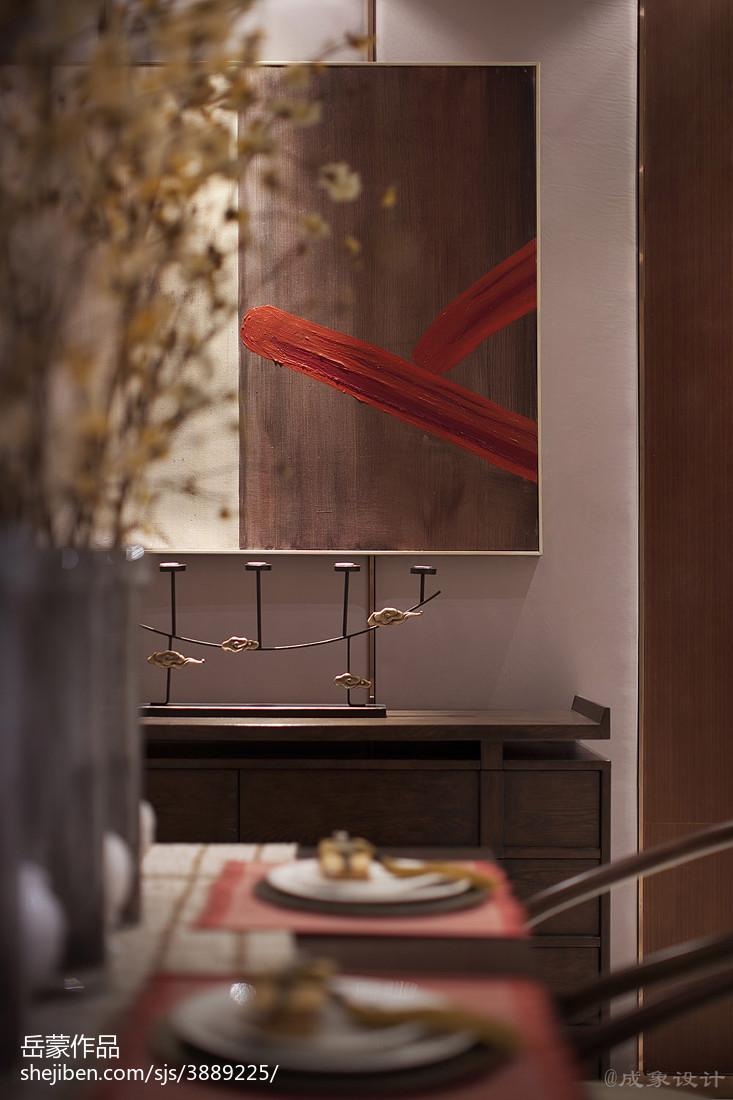 热门餐厅中式装修实景图片欣赏