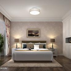 92平米三居卧室现代实景图片