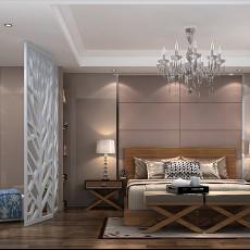 精美107平米三居卧室现代装饰图片欣赏
