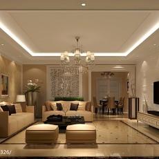 精选131平米四居客厅现代实景图片大全