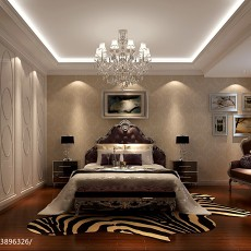 134平方四居客厅现代效果图片
