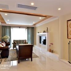 热门面积140平美式四居客厅装修效果图