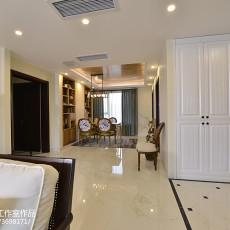 精选四居客厅美式装修设计效果图片