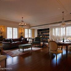 热门混搭3室装修设计效果图片大全104平