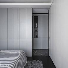 精选107平方三居卧室现代装修设计效果图片欣赏