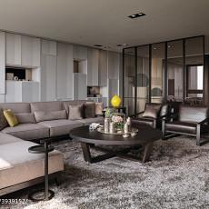 精美面积98平现代三居客厅装修欣赏图片