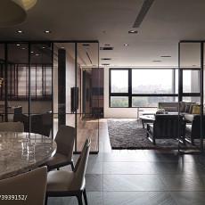 2018104平米三居餐厅现代装饰图片大全