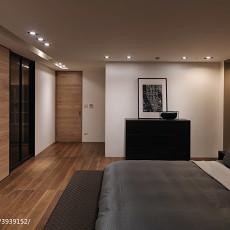 106平米三居卧室现代效果图