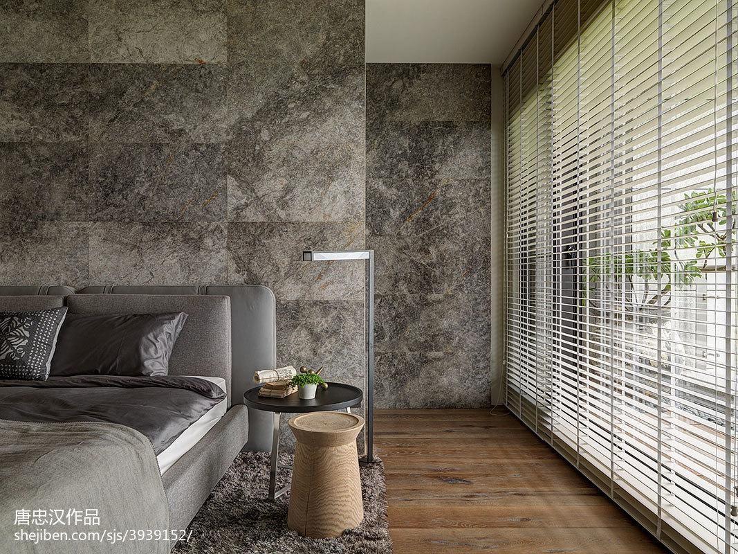 精美144平米四居卧室现代装修设计效果图