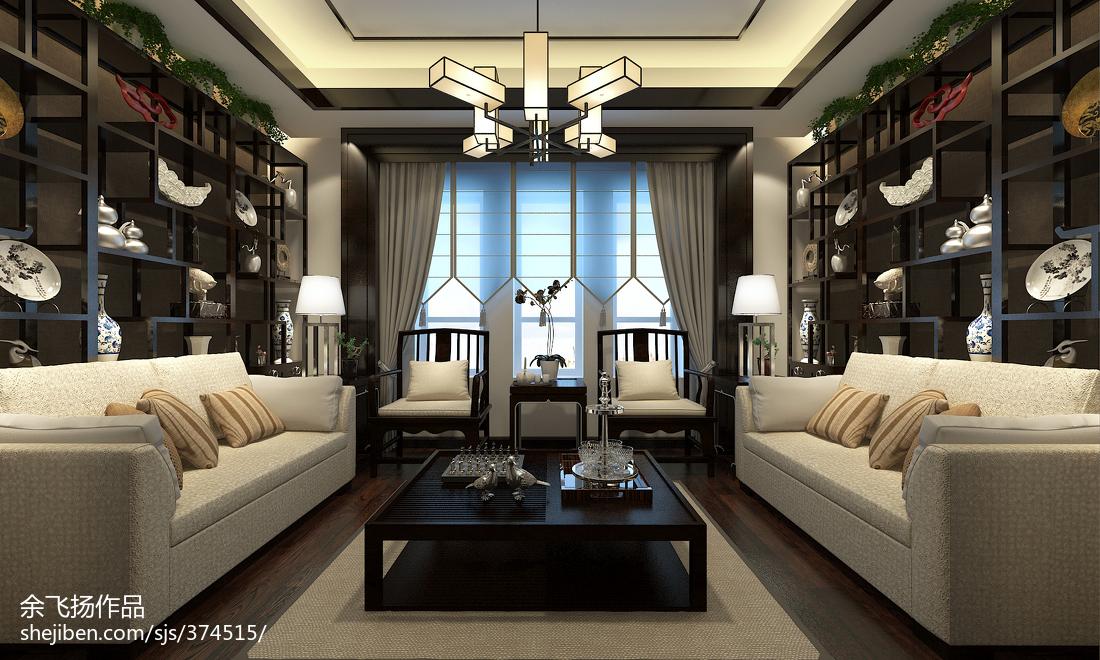 精选别墅休闲区中式装修效果图片欣赏