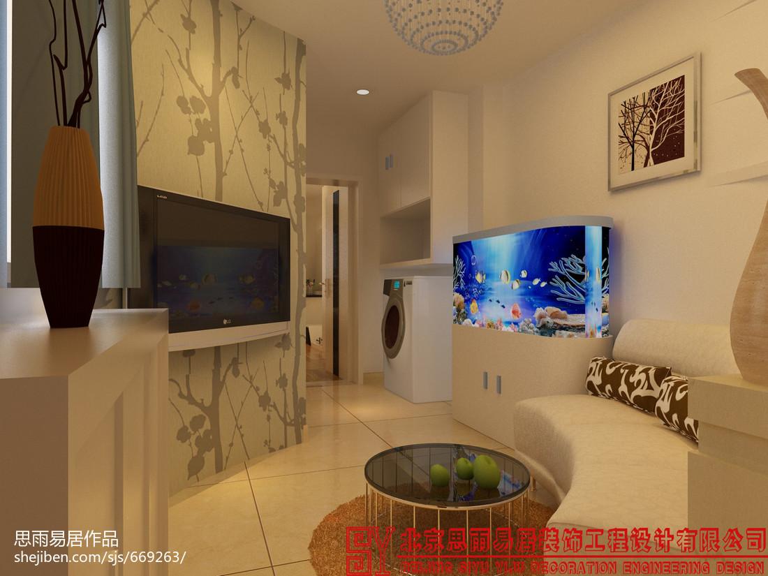 热门面积88平小户型客厅现代欣赏图片大全