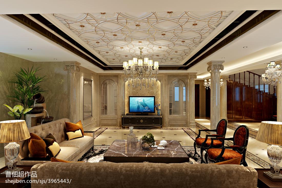 别墅装潢设计效果图欣赏