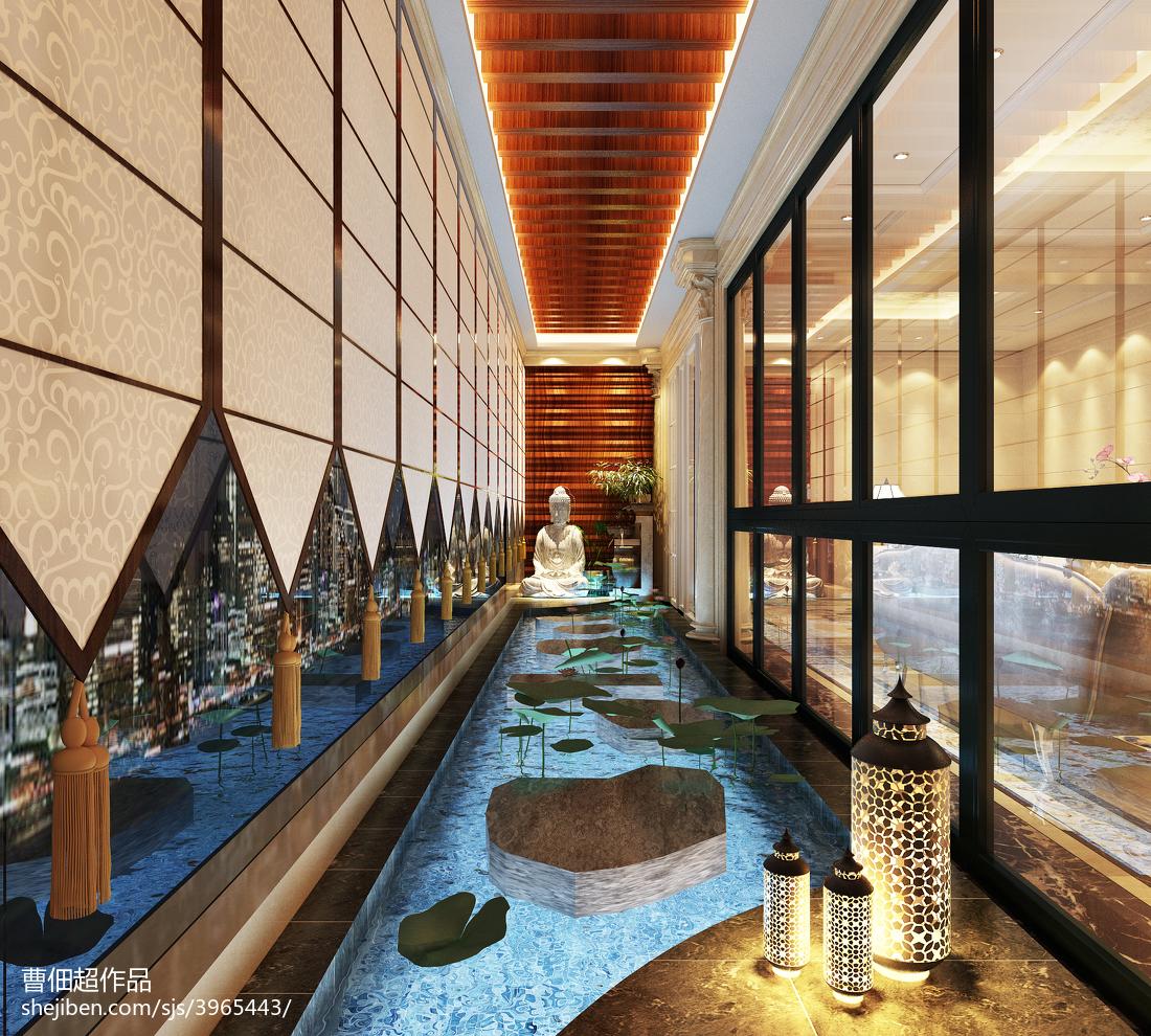 137平米欧式别墅阳台装修图片欣赏