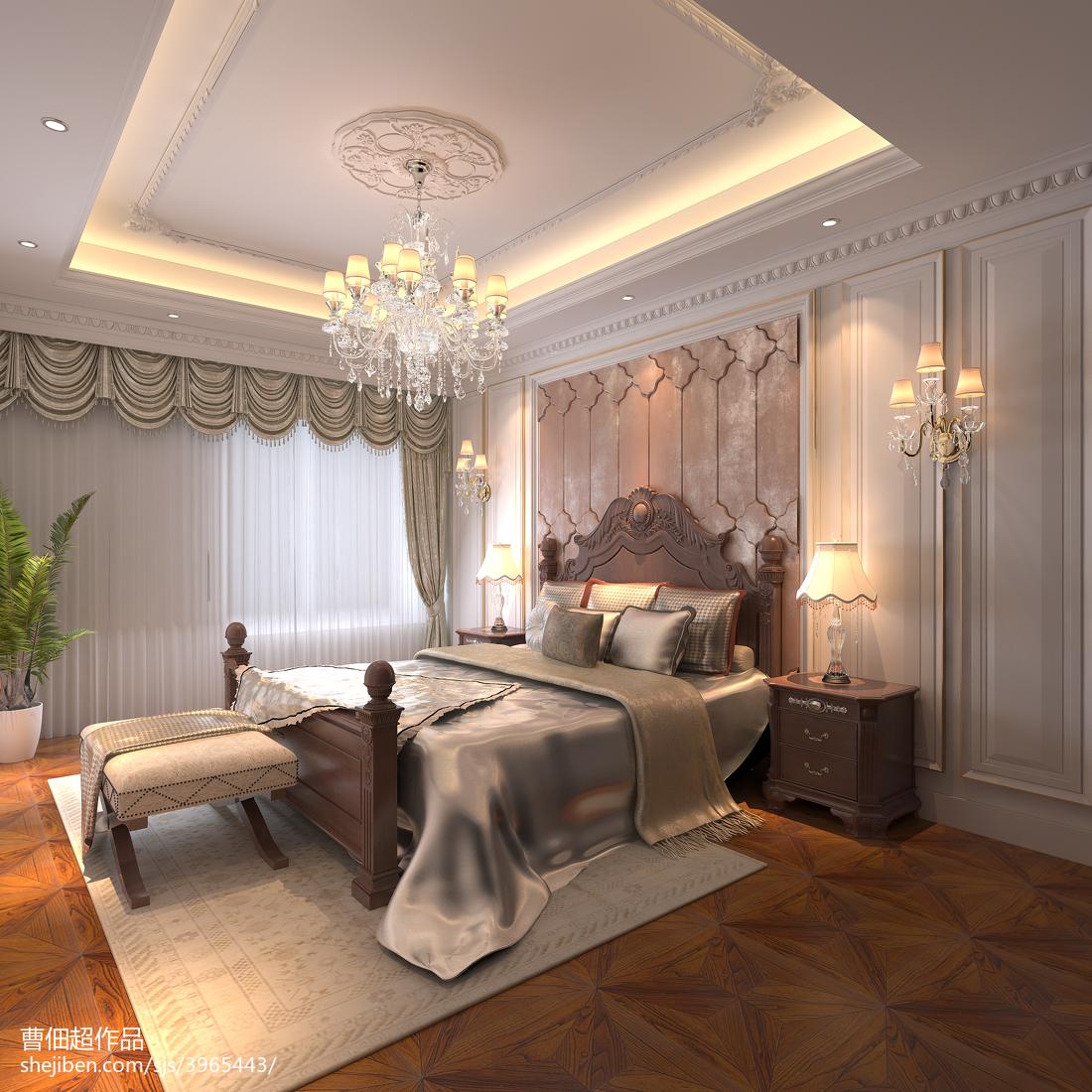 卧室窗帘装修效果图汇总